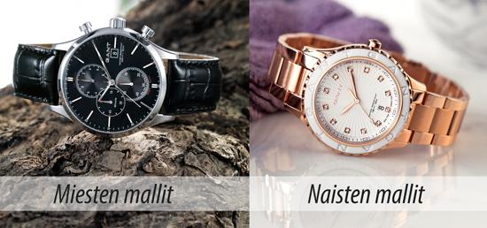 Gant kellojen laajasta valikoimasta löytyy varmasti sopiva malli jokaiseen  tyyliin. Mikäli haluamaasi kelloa ei löydy valikoimistamme ce5f780182