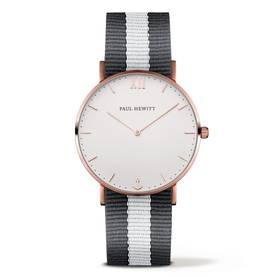 PAUL HEWITT Sailor Line Watch Rose Gold White Sand Grey-White - Paul Hewitt naisten rannekellot - PH-SA-R-Sm-W-GrW20 - 1