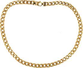 Keltakullan värinen teräskaulaketju - Teräskaulakorut - 183457-50.  Keltakullan värinen teräskaulakoru 4968b59edf