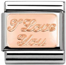 Nomi pala I Love You gold 9K - Nomination palat - Classic - 430101-30 - 1