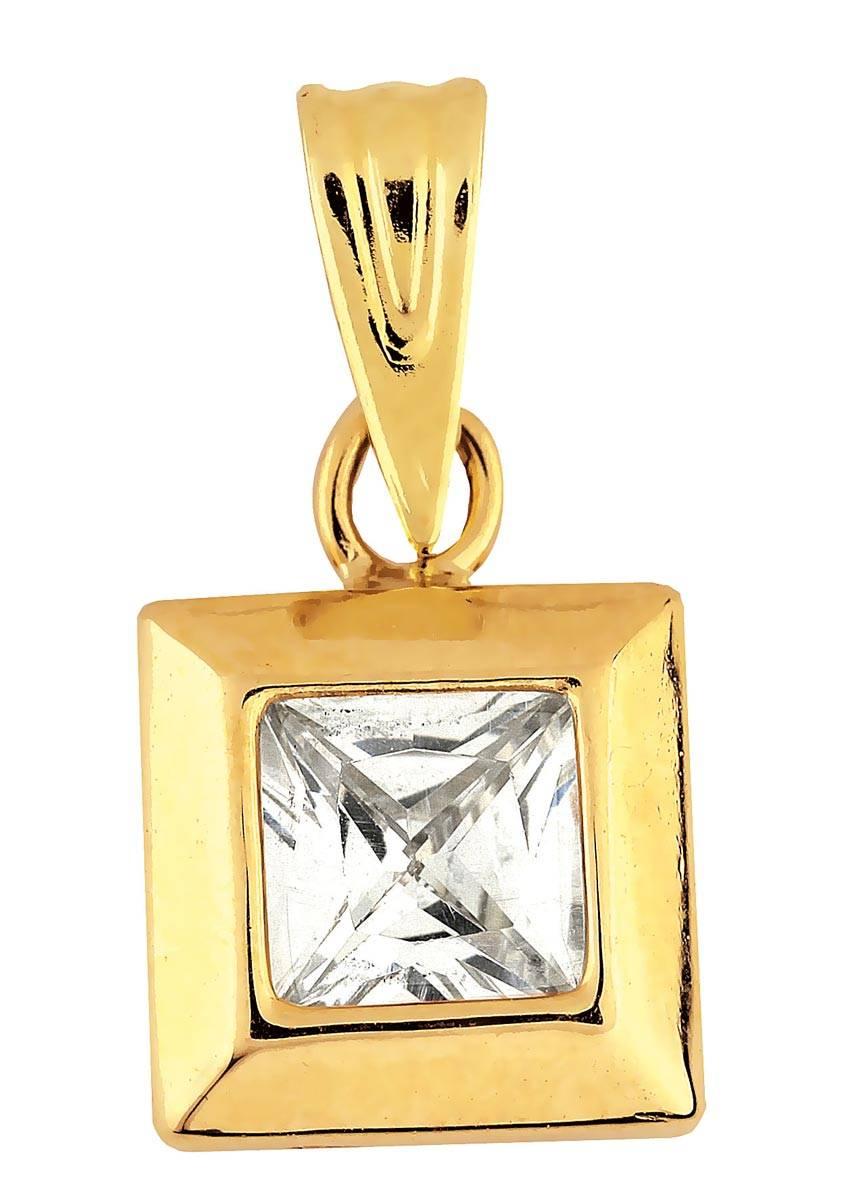 Kultainen riipus zirkonilla - Kultaiset riipukset - 50719510101 - 1. db454a8ce5