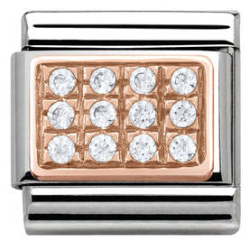Nomiantion RoseGold Pave - Composable Classic - 430301-01 - 1