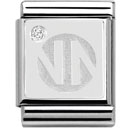 Nomination pala - Nomination Logo ,hopea cz - 332311 10 - Silver Shine - 332312-02 - 0