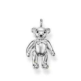 Sterling Silver Glam & Soul riipus - Nalle - Thomas Sabo Charms OUTLET - PE634-007-12 - 1