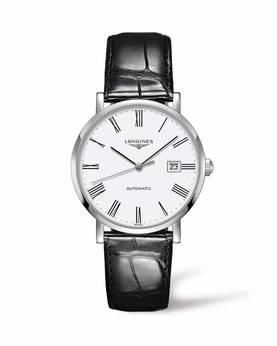 The Longines Elegant Collection L4.910.4.11.2 - Longines miesten rannekello - L49104112 - 1