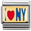 "Nomination pala - ""I LOVE NY"" - 030231 03 - Composable Classic - 030231-03 - 0"