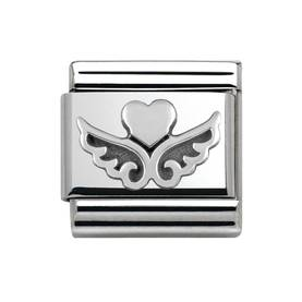 NominationAngel Heart Silver Charm 330101-13 - Nomination palat - Classic - 330101-13 - 1