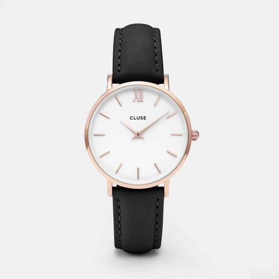 CLUSE Minuit Rose Gold White/Gray - Cluse naisten rannekellot - CL30003 - 1