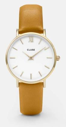 Cluse Minuit gold white-mustard CL30034 - Cluse naisten rannekellot - CL30034 - 1