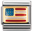 Nomination pala - USA lippu - 030235 04 - Composable Classic - 030235-04 - 0