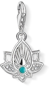 Thomas Sabo Charms Lotus flower - Thomas Sabo Charm Club -riipukset - 1446-405-14 - 1