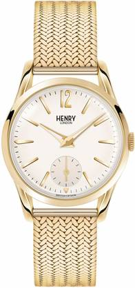Henry London Westminster Gold Mesh HL30-UM-0004 - Henry London miesten rannnekellot - HL30-UM-0004 - 1