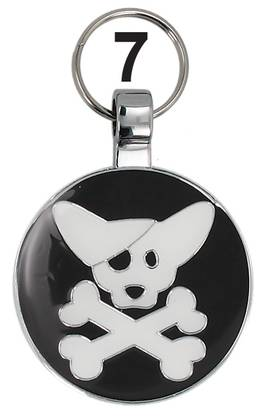 Pet Tag Pirate Dog 079201-07 - Pet Tag lemmikkilaatat - 079201-07 - 1