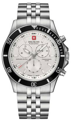 Swiss Military Hanowa Flagship crono kello 6-5183-7-04-001-07MR - Swiss Military Hanowa miesten kellot - 06518370400107 - 1