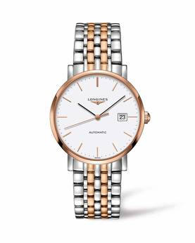 The Longines Elegant Collection L4.910.5.12.7 - Longines miesten rannekello - L49105127 - 1