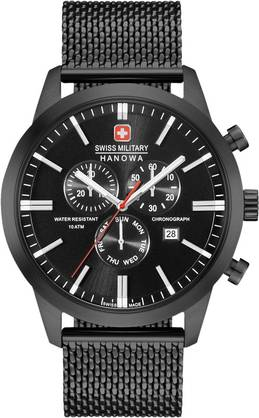 Swiss Military Hanowa 06330813007 - Swiss Military Hanowa miesten kellot - 06330813007 - 1