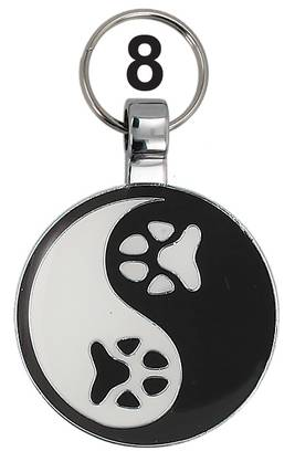 Pet Tag Ying Yang 079201-08 - Pet Tag lemmikkilaatat - 079201-08 - 1