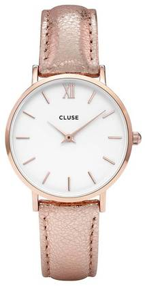 CLUSE Minuit RoseGold White Rose CL30038 - Cluse naisten rannekellot - CL30038 - 1
