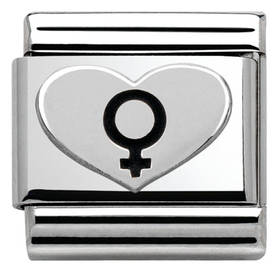 Nomination pala Female symbol 330101-08 - Composable Classic - 330101-08 - 1