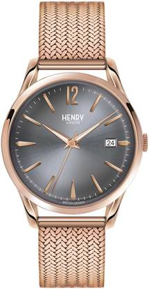 Henry London Finchley Rose Mesh HL39-M-0118 - Henry London miesten rannnekellot - HL39-M-0118 - 1