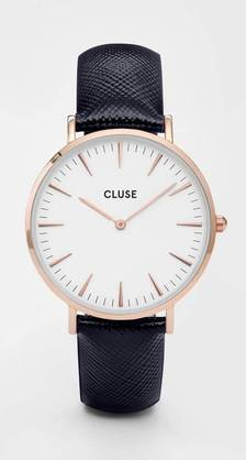 CLUSE La Bohème rose gold white- midnight blue-CL18029 - Cluse naisten rannekellot - CL18029 - 1