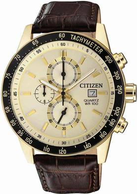 Citizen kronografi rannekello AN3602-02A - Citizen miesten rannekellot - AN3602-02A - 1