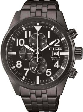 Citizen kronografi rannekello AN3625-58E - Citizen miesten rannekellot - AN3625-58E - 1