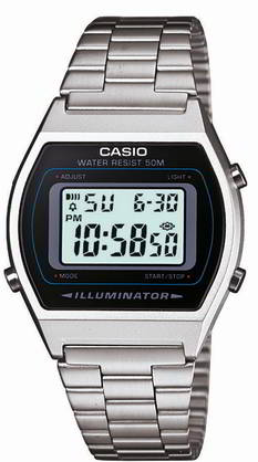 Casio retro B640WD-1AVEF - Casio miesten rannekellot - B640WD-1AVEF c0a7d6a859
