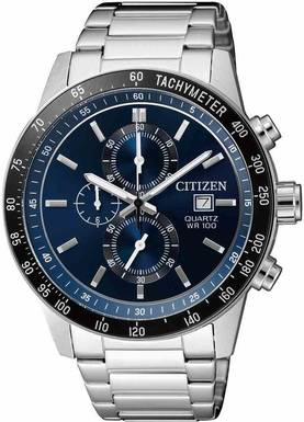 Citizen kronografi rannekello AN3600-59L - Citizen miesten rannekellot - AN3600-59L - 1