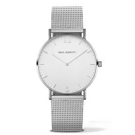 PAUL HEWITT Sailor Line Watch Silver White Sand Metal Watchstrap Silver PH-SA-S-Sm-W-4M - Paul Hewitt naisten rannekellot - PH-SA-S-Sm-W-4M - 1