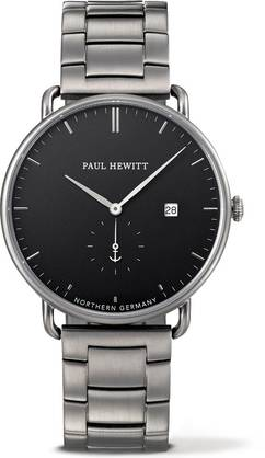 Paul Hewitt Grand Atlantic Line Watch Gun Metal - Paul Hewitt miesten rannekellot - PH-TGA-GM-B-4M - 1