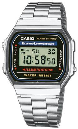 Casio rannekello A168WA-1YES - Casio miesten rannekellot - A168WA-1YES - 1
