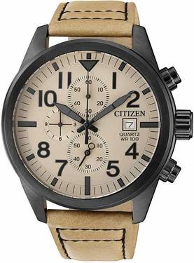 Citizen kronografi rannekello AN3625-07X - Citizen miesten rannekellot - AN3625-07X - 1